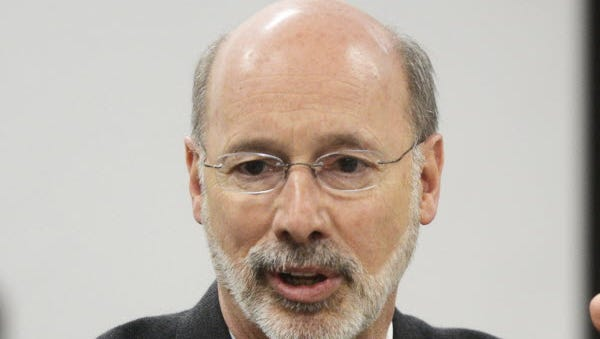 Gov. Tom Wolf has a slight edge over legislative Republicans in the budget debate, according to recent polling.