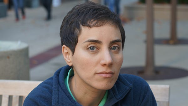 Stanford University professor Maryam Mirzakhani is the first woman to be awarded the Fields Medal, the top honor in mathematics, which was established in 1936.