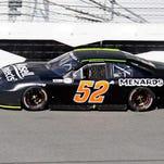 Matt Kurzejewski during ARCA Racing Series testing in January at Daytona International Speedway.