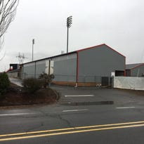 What's that new building at Volcanoes Stadium?
