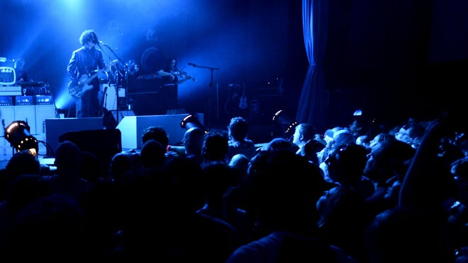 Jack White performs in a sold-out show at the newly renovated Municipal Auditorium in June.