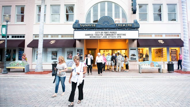 The City of Fort Pierce hosted a community input meeting Wednesday, June 27, 2018, to get the public's input on the future of the Sunrise Theatre in Fort Pierce. The city fired the theatre's manager in May. Most of the night's discussions were centered around how to make the theatre financially solvent.