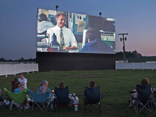 Digital divide hits drive-in movie business