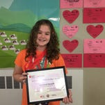 BUZZ ABOUT YOU: Greene fifth grader raises over $1.5K for Jump Rope for Heart