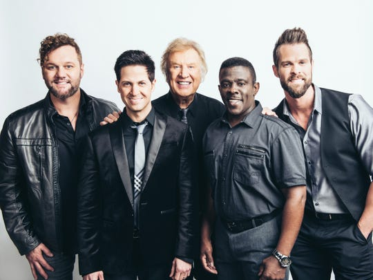 The Gaither Vocal Band will headline a gospel Christmas concert at the Landers Center on Saturday.