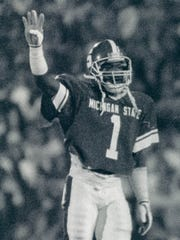 Andre Rison played at Michigan State from 1985-1988.