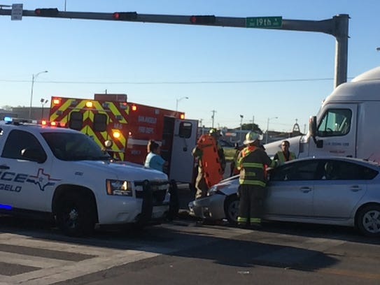 San Angelo's first responders work to get the injured