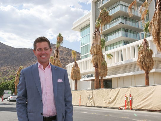 Palm Springs City Council candidate Henry Hampton.
