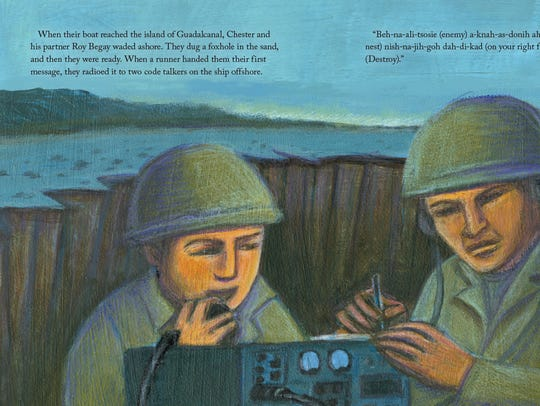 A new children's book tells the story of Navajo Code