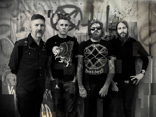 Mastodon will play the Fillmore Detroit on Friday.