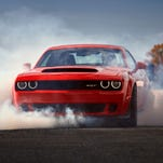 Dodge Challenger SRT Demon price tag: $84,995, plus $1 for a little extra horsepower