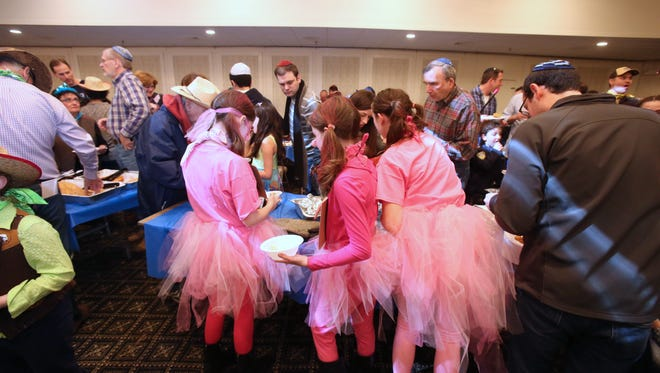 A Cowboy Purim celebration was held at the New City Jewish Center March 4, 2015.