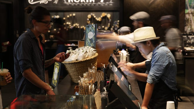 The North 7th Street Starbucks in Brooklyn. After several years of cautiously testing the viability of selling beverages stiffer than a double shot of espresso, Starbucks is accelerating its effort to sell wine and craft beer in its U.S. stores.