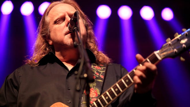 Warren Haynes, an Asheville-based musician, was inducted into the North Carolina Music Hall of Fame on Thursday.