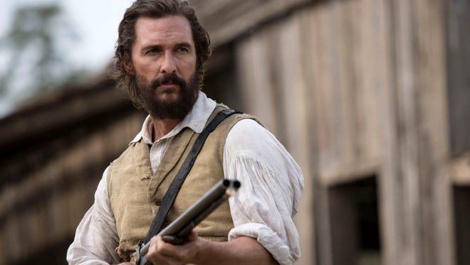 Matthew McConaughey stars in Free State of Jones