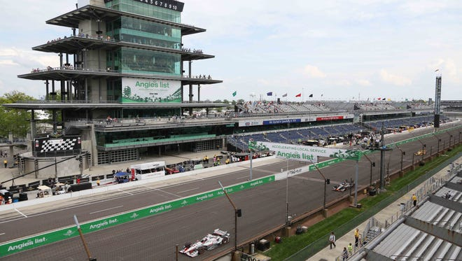 The Indianapolis Motor Speedway will host the 100th running of the Indianapolis 500 in May.