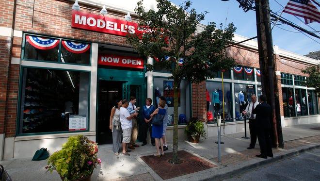 Modell's in Mount Kisco opened Thursday.