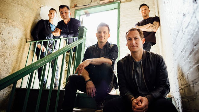 """The band O.A.R. has received radio play with charting songs such as """"Hey Girl,"""" """"Love and Memories"""" and """"Shattered (Turn the Car Around)."""" The band consists of Marc Roberge, Chris Culos, Benj Gershman, Jerry DePizzo and and Richard On."""