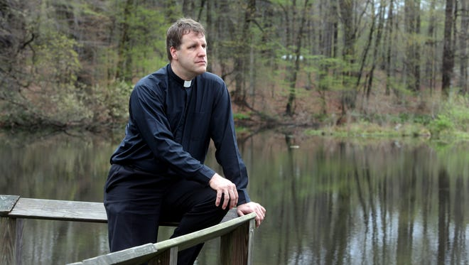 The Rev. Robert Repenning, photographed April 26, says that he will not go to the center where Cardinal Timothy Dolan has ordered him, and wants to return to work as a priest.