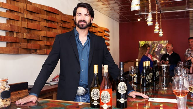 Robert Carlson, co-owner and winemaker at Carlson Creek, says being able to boast about his colleagues is just as rewarding as touting his own wine.