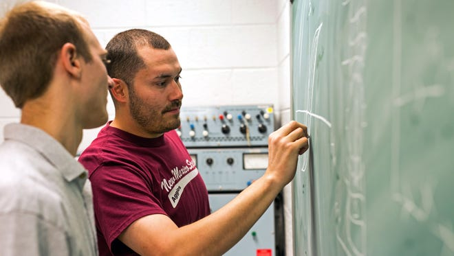 Peer tutoring began this past spring at the Learning Communities in New Mexico State University's College of Engineering and will continue to be one of the primary functions of the space.
