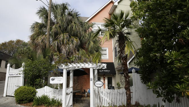 The exterior of Paisley Cafe on Thomasville Road.