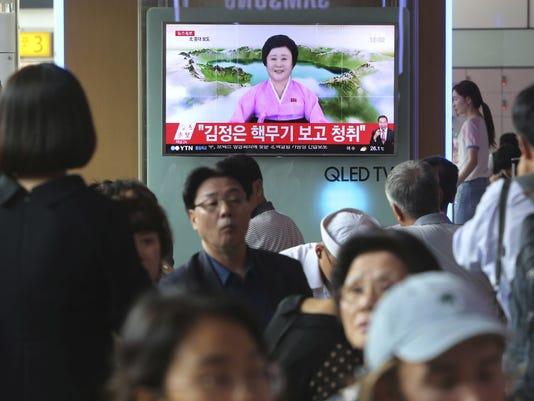 South Korean North Korea Nuclear Test