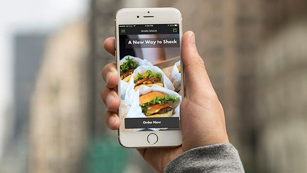 The new Shake Shack app launches for iOS today.