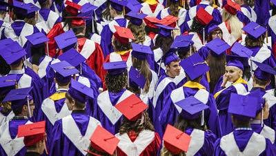 Muncie Central High School graduation 2015.