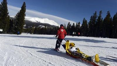 A 42-year-old man from New Jersey died Monday at Breckenridge Ski Resort, according to the Summit County Coroner's Office.