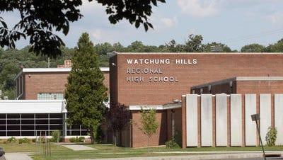 Watchung Hills Regional High School in Warren.