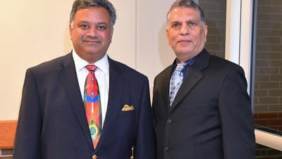 Glad Kurian and Dr. Ashok C. Shah. M.D. The 22nd Annual BIMDA Fall Medical Conference , followed by an evening gala, will be Saturday at the Hilton Melbourne at Rialto Place.