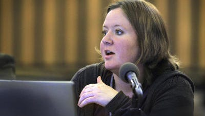 Indianapolis Public School Board President Annie Roof