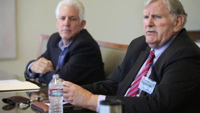 Candidates for Indian Wells City Council meet with The Desert Sun.