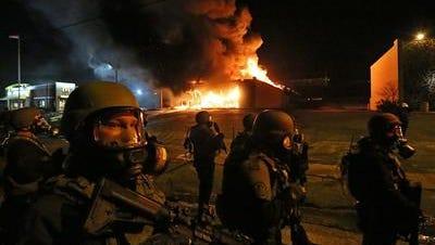 A bad night in Ferguson, Mo.