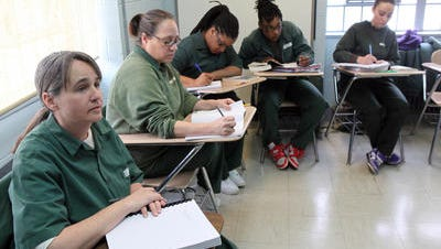 Taconic Correctional Facility inmates in a course taught by Bard College.