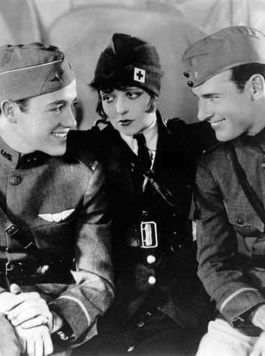 "Here's a look back at the Oscars' 90 best pictures. 1927/1928 - 'Wings' | Richard Arlen, Clara Bow and Charles ""Buddy"" Rogers star in the first Academy Award best-picture winner, a silent film."