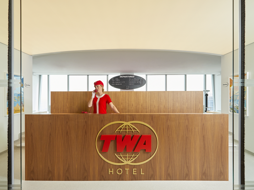 Twa Terminal At New York Jfk New Hotel Will Evoke Glamour