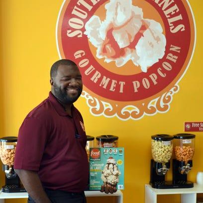 Southern Kernels Gourmet Popcorn Owner Taj Stewart