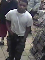 Suspect in fatal robbery.