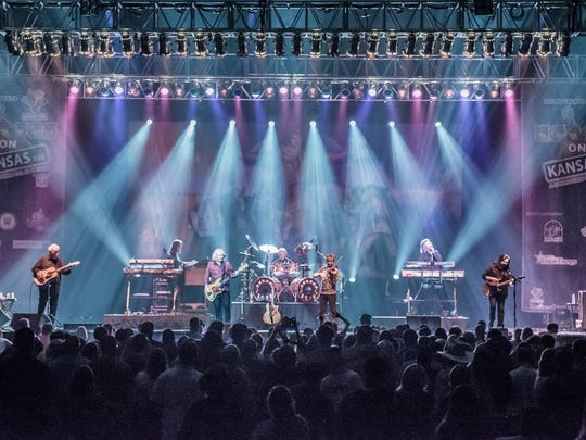Kansas returns to the Asbury Park Press Stage at the Count Basie Theatre in Red Bank on Monday night.