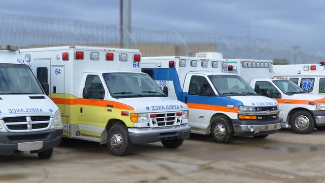 The Shelby County Fire Department will lease ambulances from Southeaster Specialty Vehicles while awaiting the January delivery of 12 new ambulances.