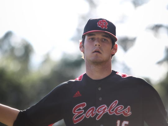 Recently graduated North Florida Christian pitcher