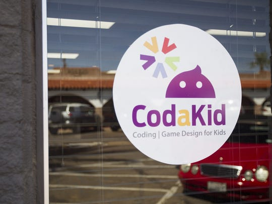 Weekly classes at CodaKid are held throughout the school