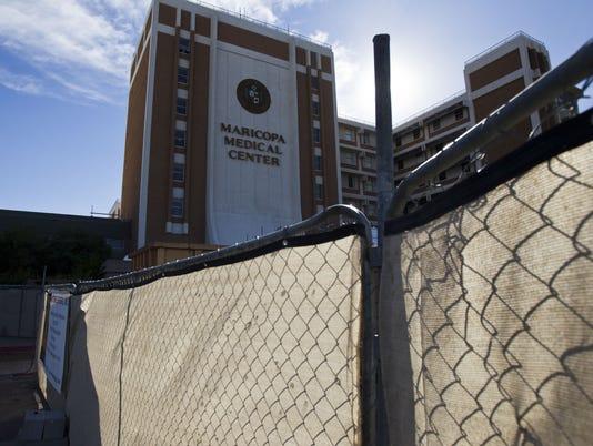 Maricopa Medical Center bond project