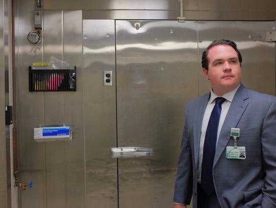 Luke Vogelsberg, Chief Investigator in the medical