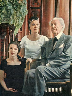 Iovanna Lloyd Wright was the only child of Frank Lloyd Wright and his third wife Olgivanna.