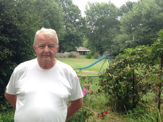 Roy Tolbert, 75, bought his home on Oak Grove Avenue