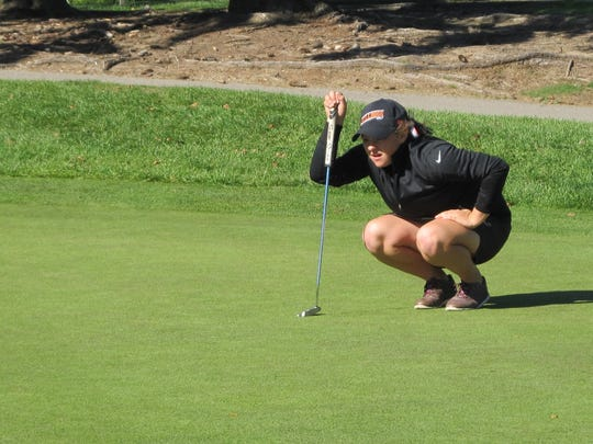 Brighton's Heather Fortushniak shot 73 to tie for second