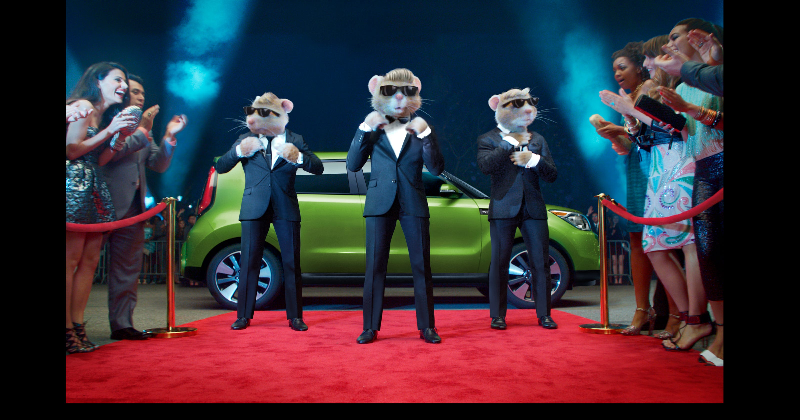 Kia Soul Commercial >> Kia hamsters become gym rats in ads with Lady Gaga